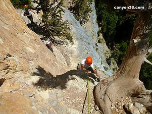 CANYON 38 - Via ferrata Lyon, Annecy, Ch