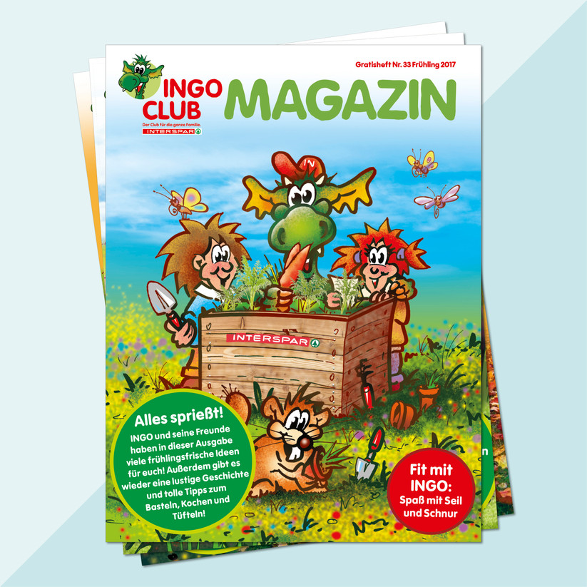 INTERSPAR INGO Kindermarketing