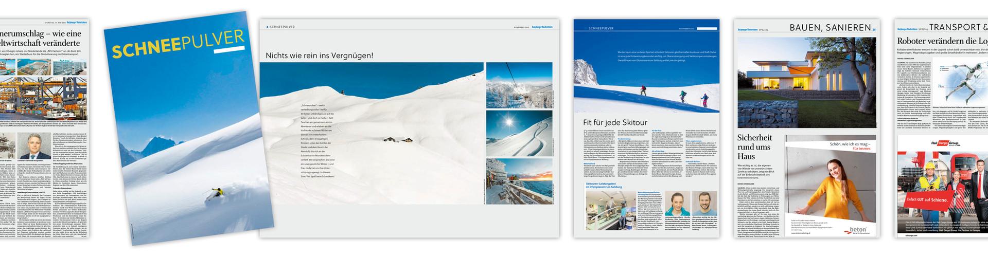 Verlagsbeilagen für die Salzburger Nachrichten
