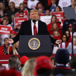 'Don't listen to my friends': Trump encourages Georgia Republicans to vote