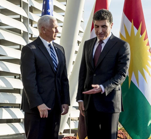 Pence touts 'enduring bond' with Kurds during unannounced trip to Iraq