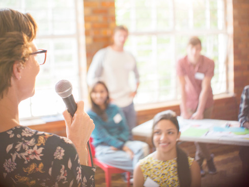 How my child helped me to face the fear of public speaking