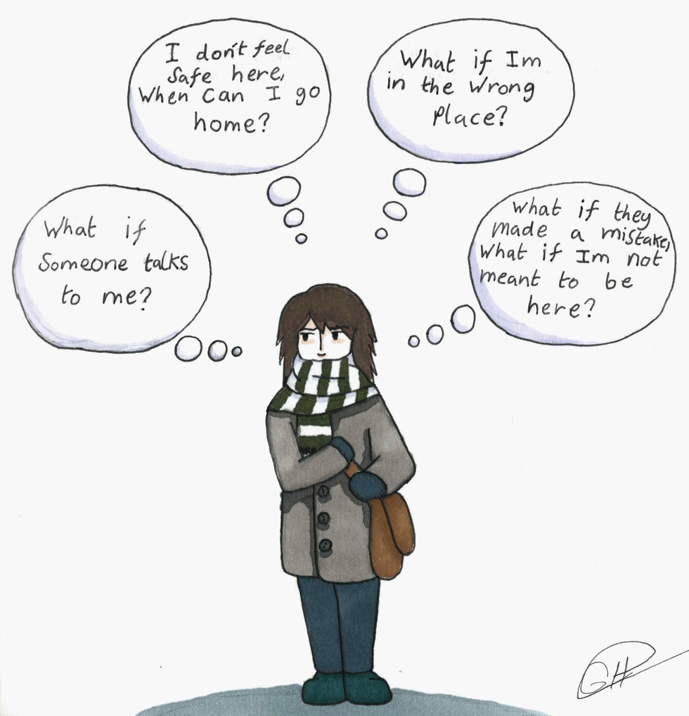 University Challenges - social anxiety, my constant companion