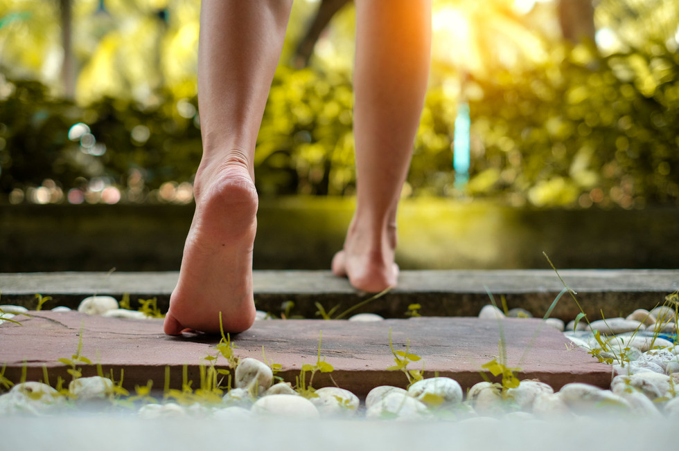 Finding my feet; grounding, centring & emotional resilience