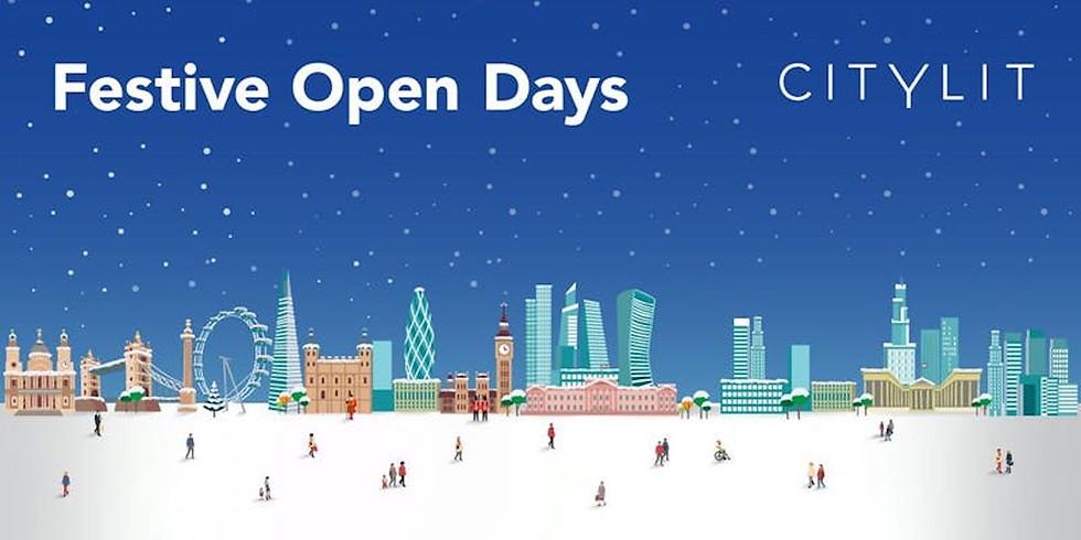 Festive Open Days at City Lit - London