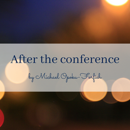 POEM: After the conference
