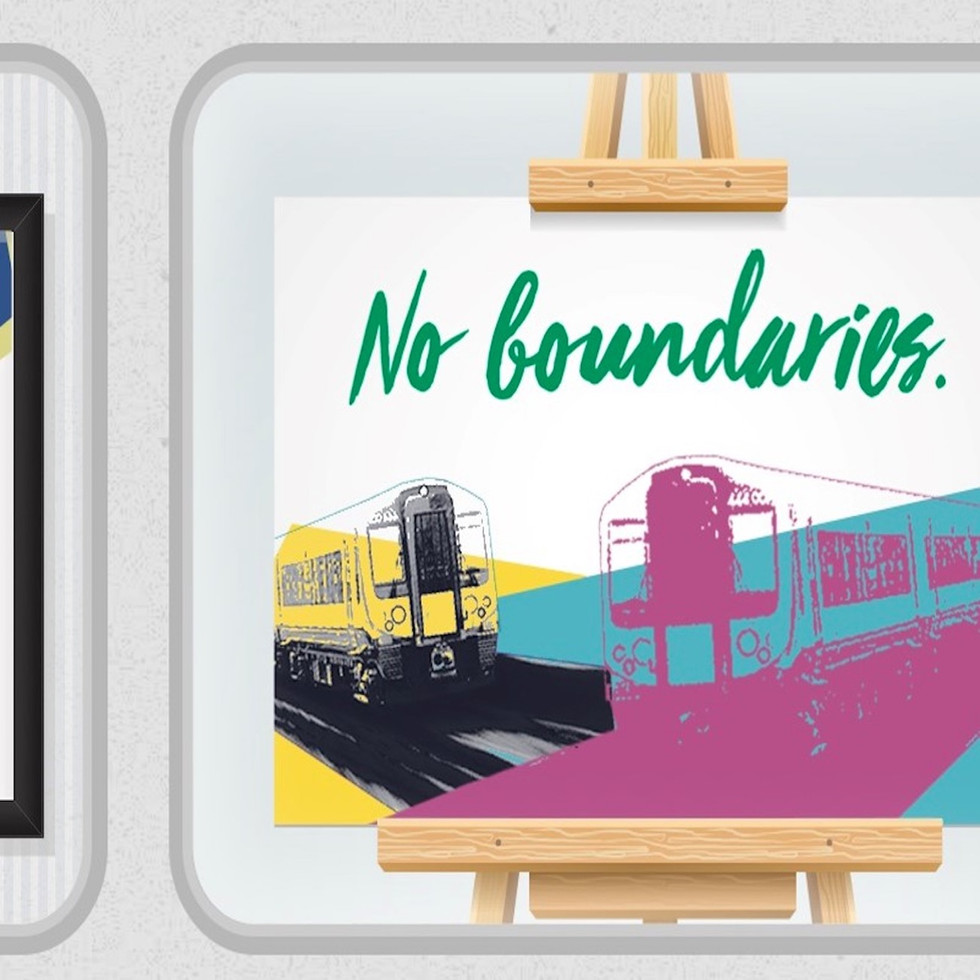 National Rail announces pop-up art exhibition to encourage travel without boundaries