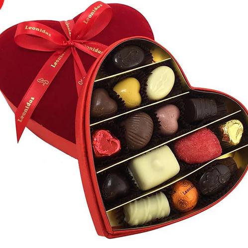 Leonidas Assorted Chocolate Heart