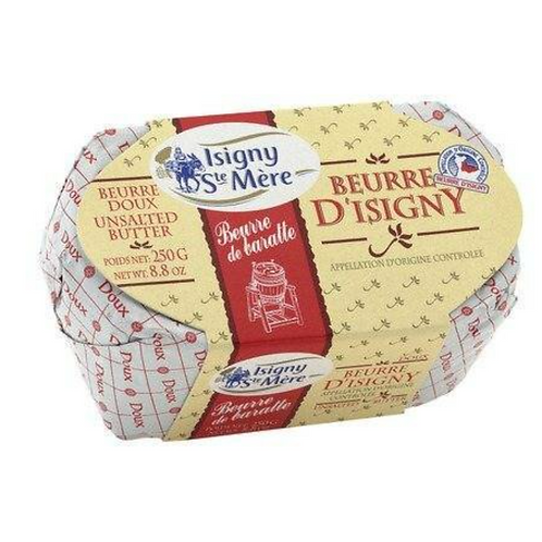 Beurre D'Isigny AOP French Unsalted Butter