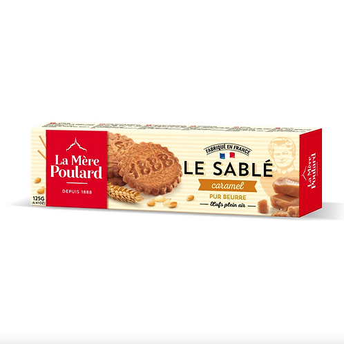 Le Sable au Caramel Biscuits