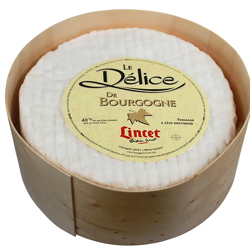 Delice de Bourgogne French Cheese