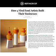 Leslie Kirchhoff Disco Cubes in Refinery29