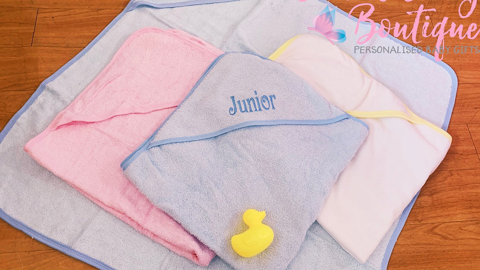 Hooded Bath Towel and Duck