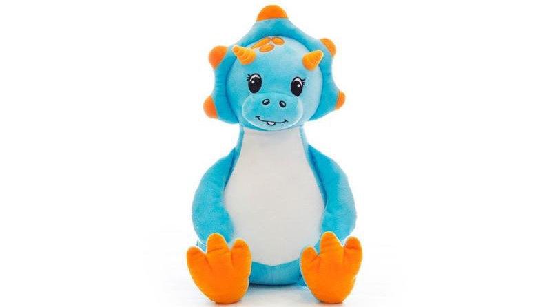 New Blue Dinosaur Cubbie
