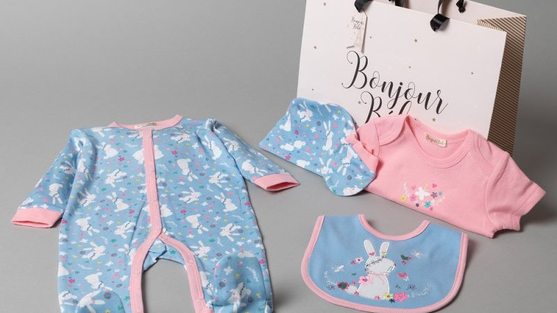 Floral Bunny 6 piece set