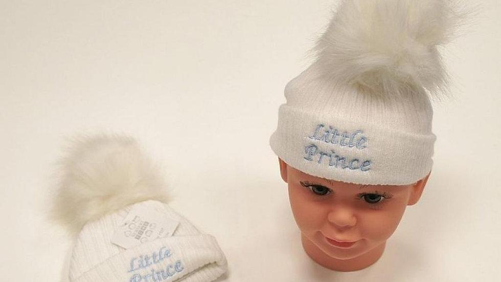 Little Prince Pom Hat