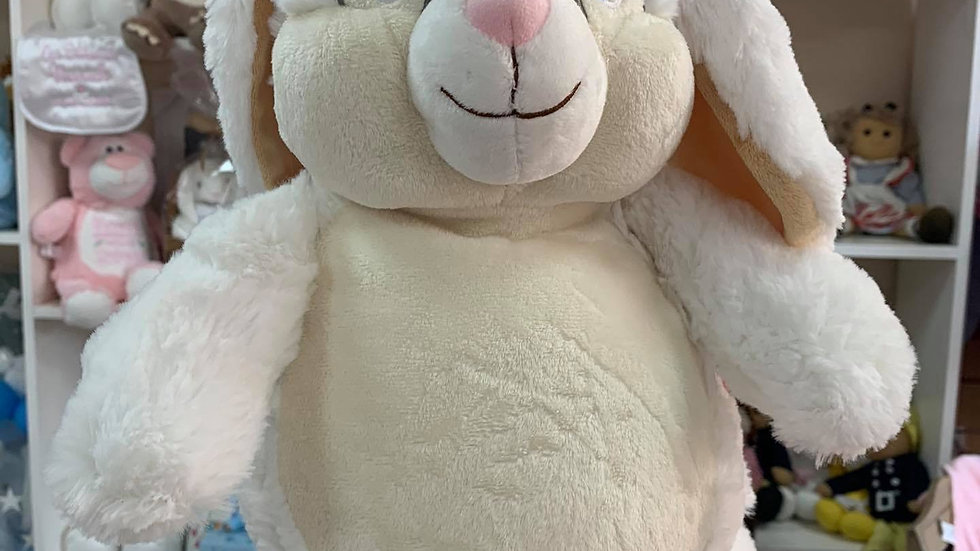 White rabbit cubbie