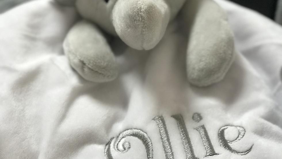 Silky Eared Elephant Comforter