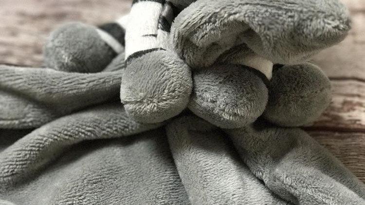 Suki Zooma Zebra Rattle and Blanky Comforter