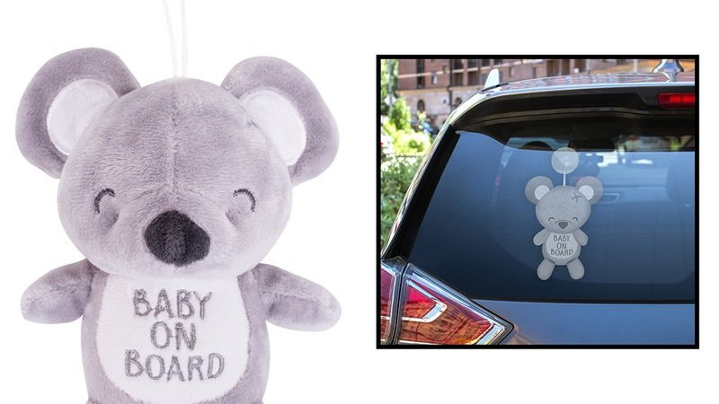Baby on board plush