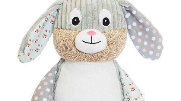Grey / Harlequin Rabbit Cubbie