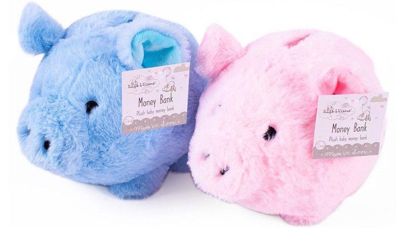 Soft piggy bank