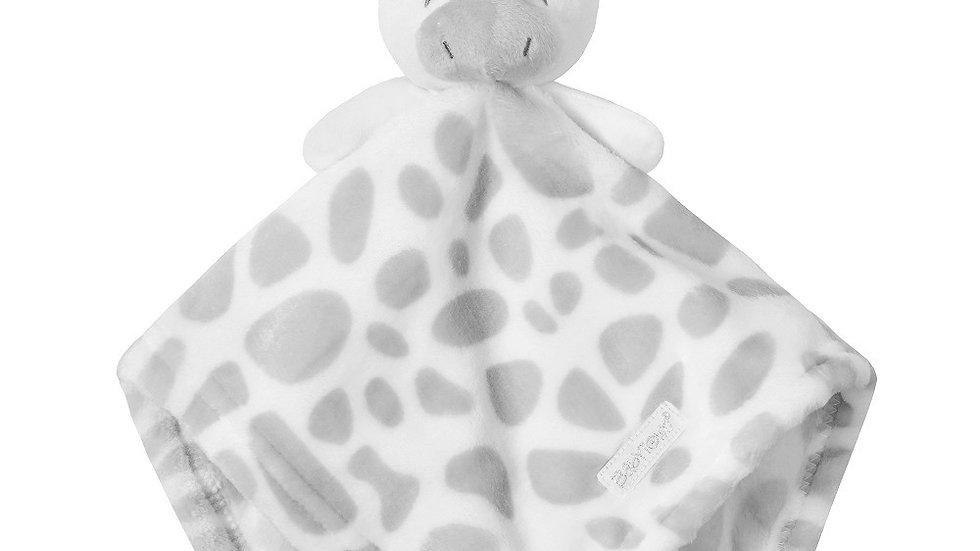 Grey Giraffe Comforter