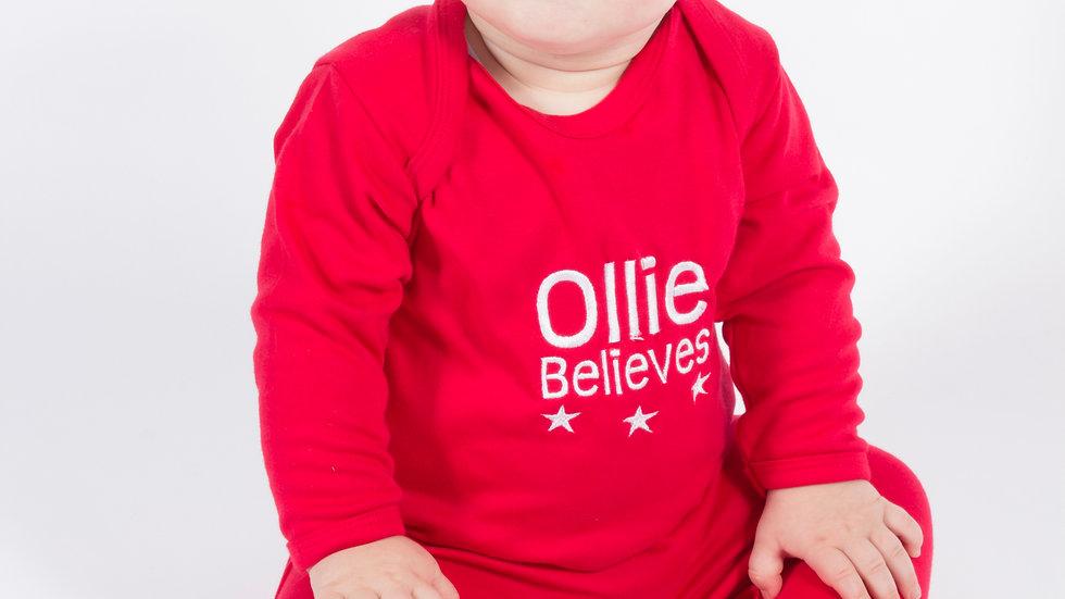 Red Christmas BabyGrow
