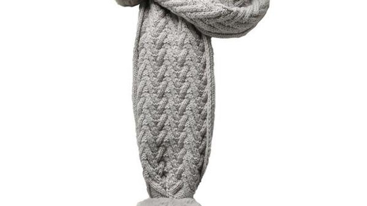 Cable Knit Scarf 0-12 month