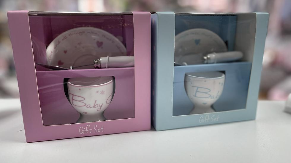 Egg cup gift set
