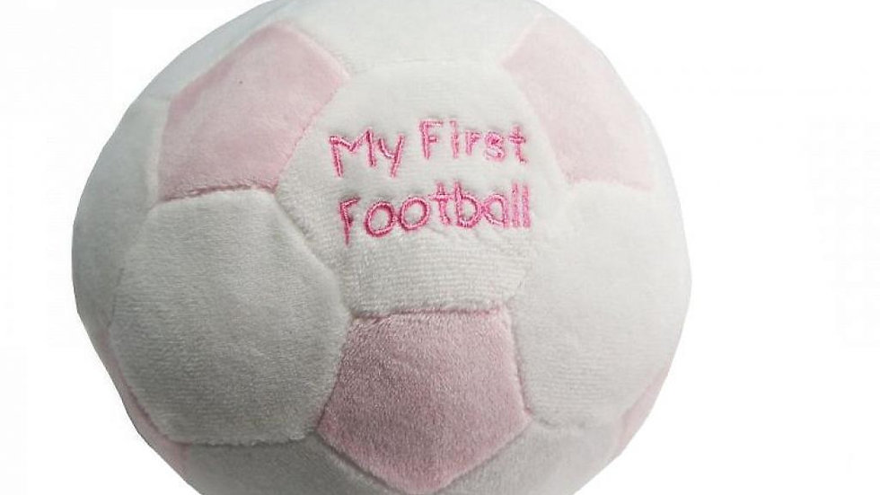 My First Football pink