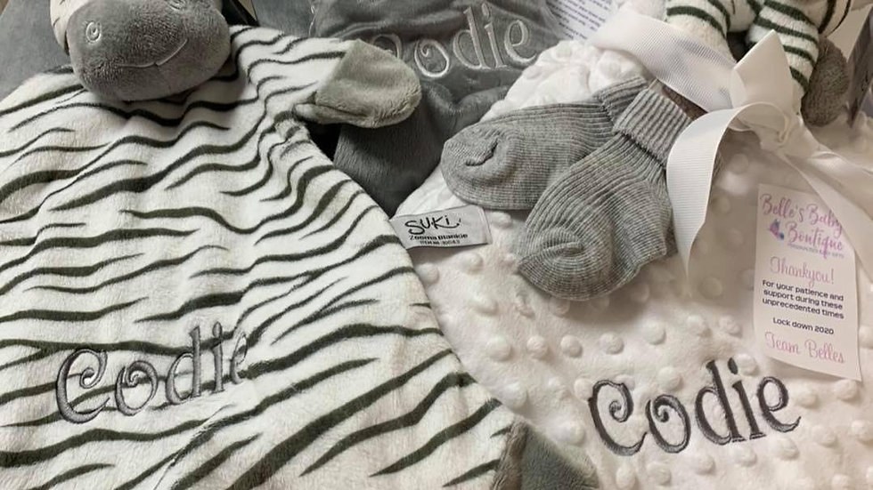 Luxury Zooma Zebra Bean Bag