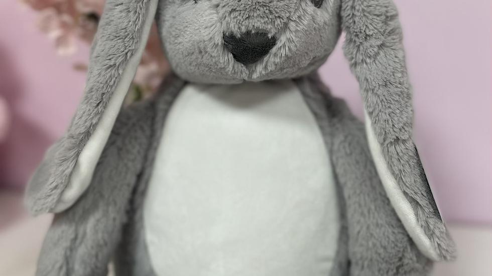Grey rabbit mumble