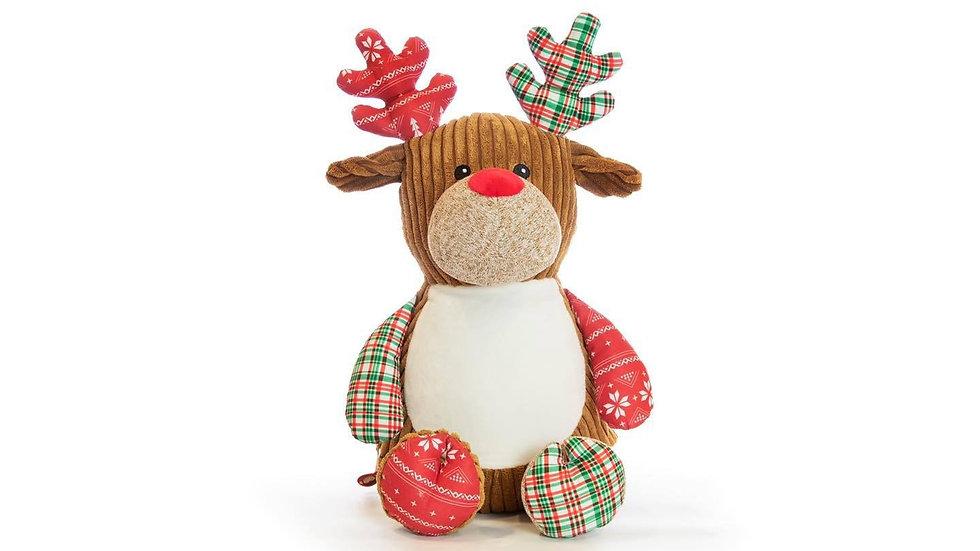 New Reindeer Cubbie red/green