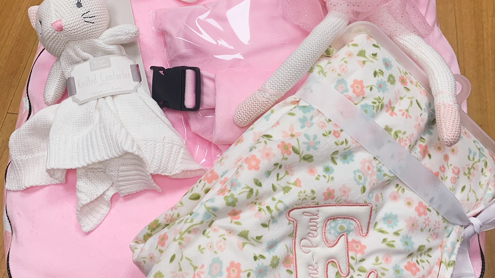 Knitted kitten Ballerina set