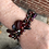 Thumbnail: Red Button Fringe Bracelet