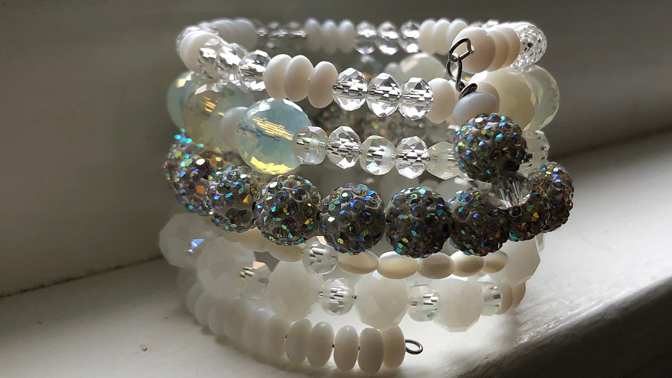 Snow Cone Coil Bracelet