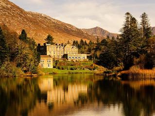 Christmas in an Irish Castle.