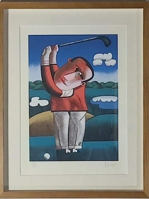Obra de Inos Corradin - Golfista