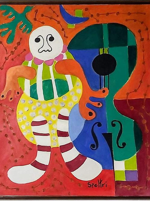 Obra de Ingris Speltri - Revivendo Miró