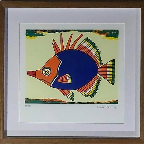 Obra de Carlos Furtado - Peixe VII