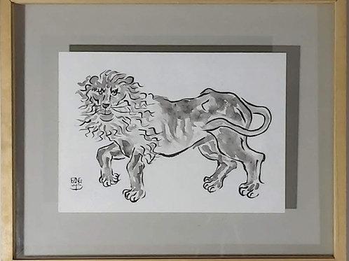 Obra de Fang - Leão