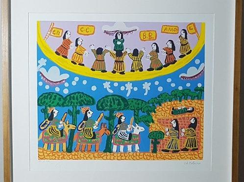 Antonio Poteiro - Três Reis Magos - Parcele em até 10 x no Cartão