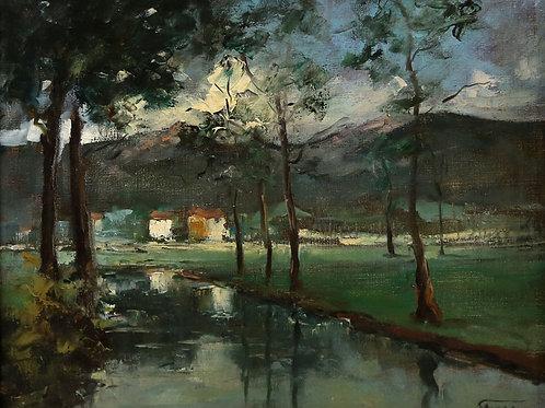Obra Casa com Lago