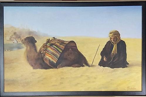 Obra de M. Tambasco Cena Árabe