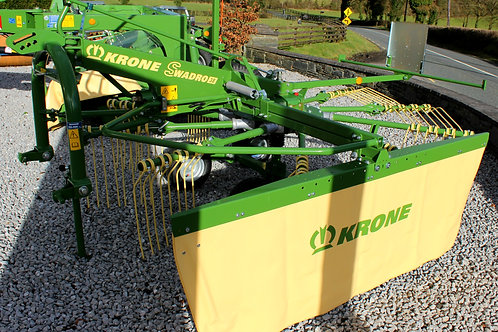 Krone Single Rotor Rakes.   Swadro 38