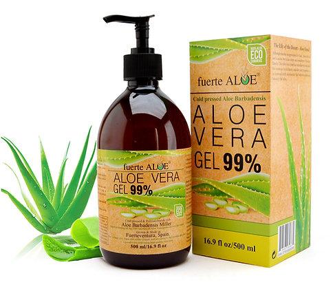 Gel de Aloe Vera 99% puro -500ml