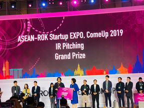Grand Prize Winner for ASEAN-Korean Startup Summit & ComeUp 2019 IR Pitching