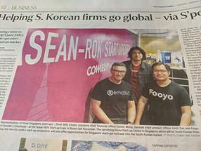 The Straits Times: Helping South Korean firms go global - via Singapore