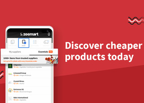 Easily discover products from other suppliers within our app